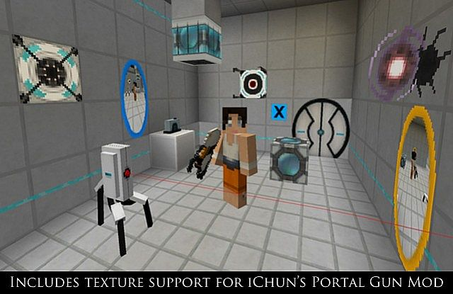 1623a  Precisely and modified portal texture pack 3 [1.7.2/1.6.4] [16x] Precisely Portal and Modified Portal Texture Pack Download