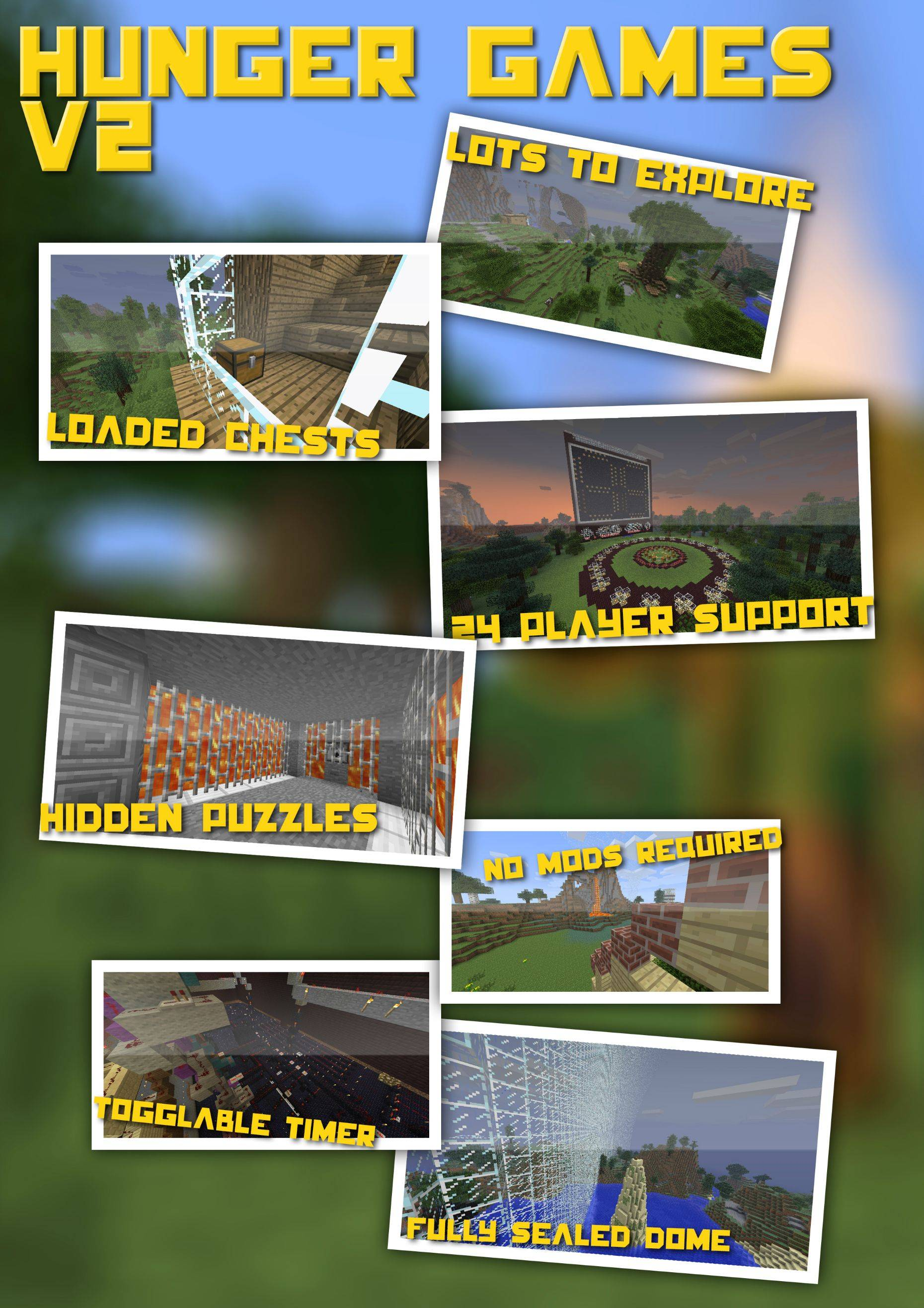 1db5b  Hunger Games Map 1 [1.5/1.4.7] Hunger Games Map Download
