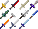 [1.7.2] More Swords Mod Download