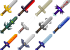 [1.8.9] More Swords Mod Download