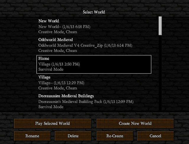 49fd7  Golbez22s medieval texture pack 5 [1.5.2/1.5.1] [32x] Golbez22′s Medieval Texture Pack Download