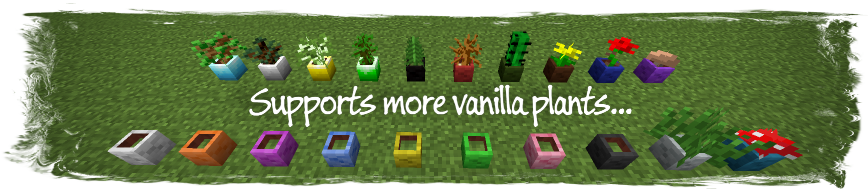 4c9a0  Painters Flower Pot Mod 3 [1.6.4] Painter's Flower Pot Mod Download
