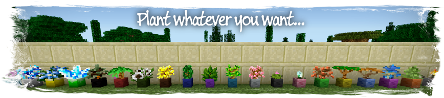 58bbd  Painters Flower Pot Mod 5 [1.6.4] Painter's Flower Pot Mod Download