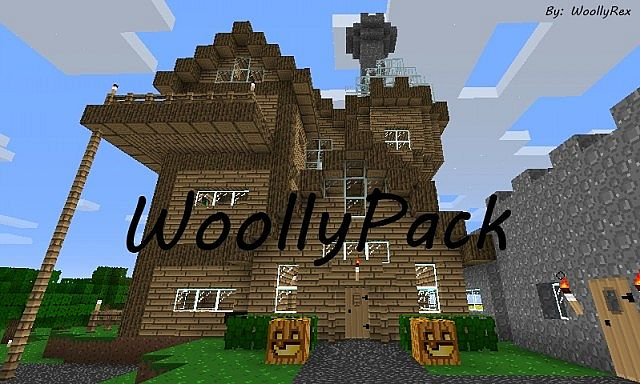 61726  Woollypack texture pack [1.4.7] [16x] WoollyPack Texture Pack Download