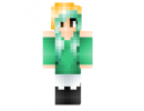 Female Headbanger Skin for Minecraft