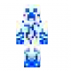 Blue Mist Creeper Skin for Minecraft
