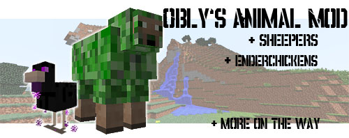 991f0  Oblys Animal Mod [1.5] Obly's Animal Mod Download