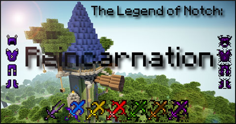 9c3e9  The Legend of Notch Reincarnation Mod [1.5.1] The Legend of Notch: Reincarnation Mod Download