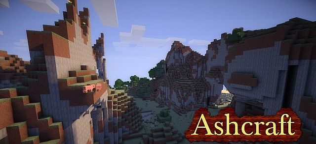 a4137  Ashcraft texture pack [1.5.2/1.5.1] [16x] AshCraft Texture Pack Download
