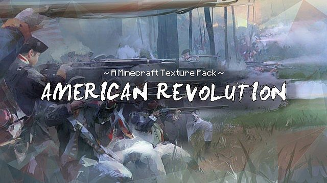 c74dd  American revolution texture pack [1.5.2/1.5.1] [32x] American Revolution Texture Pack Download