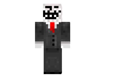 cb05c  Troll face skin Troll Face Skin for Minecraft