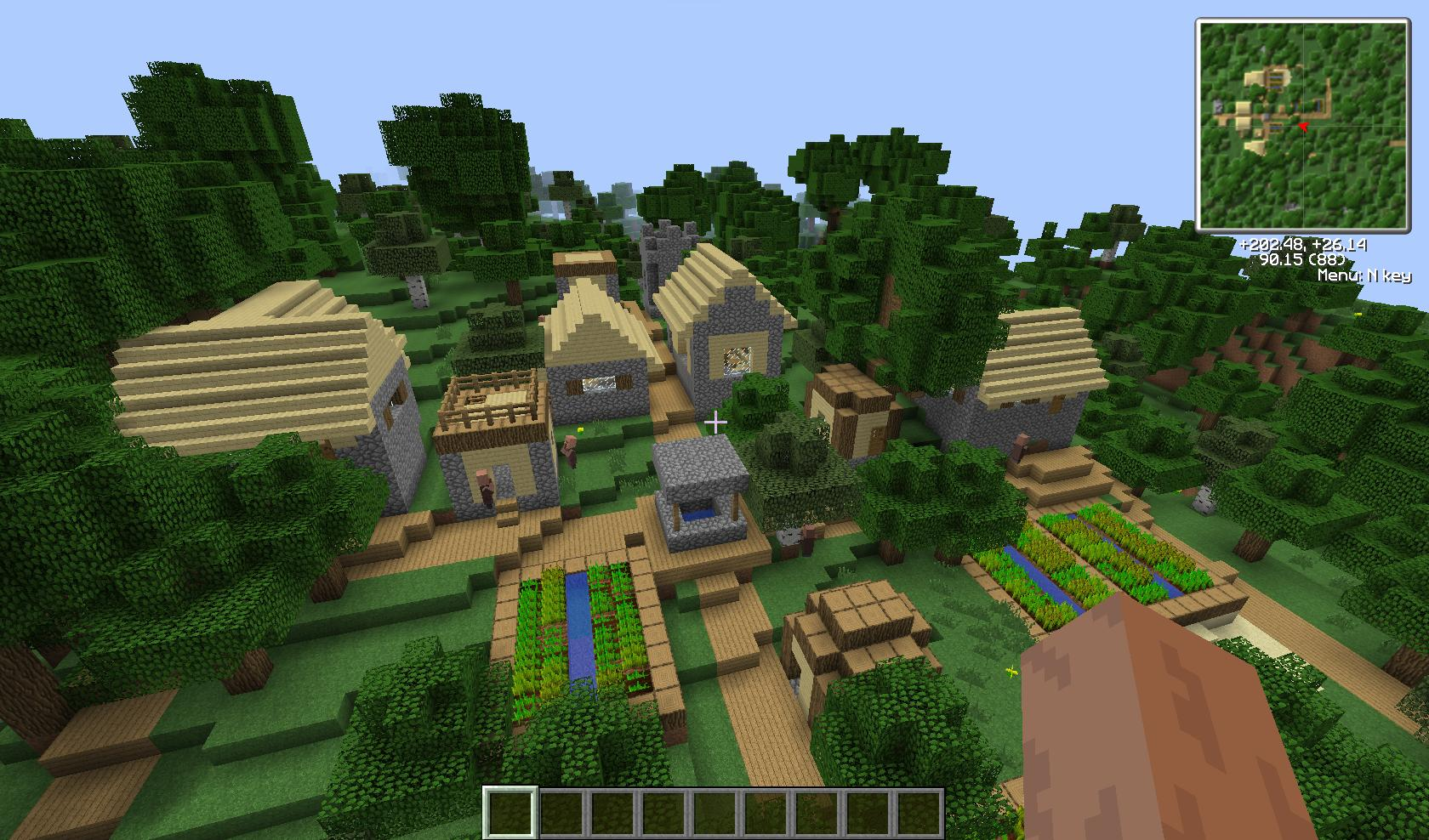 e2b09  More Village Biomes Mod 1 More Village Biomes Screenshots