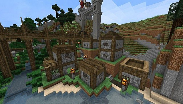 ebac1  Elveland light texture pack 4 [1.4.7] [32x] Elveland Light Texture Pack Download