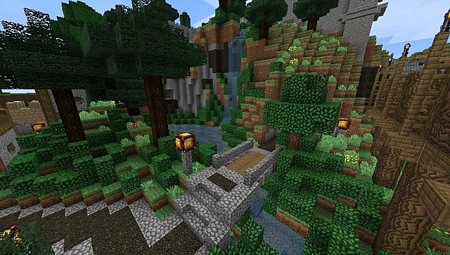 ebac1  Elveland light texture pack 5 [1.4.7] [32x] Elveland Light Texture Pack Download