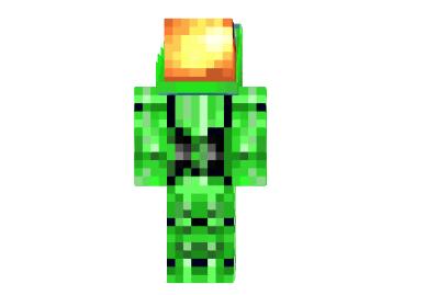 ee2f8  Truemu green skin TrueMU Green Skin for Minercraft
