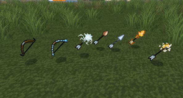 elemental arrows [1.6.1] Elemental Arrows Mod Download