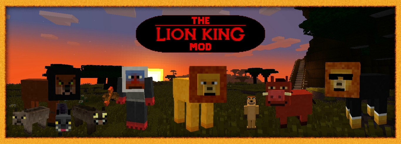 m6Gtx [1.6.4] The Lion King Mod Download