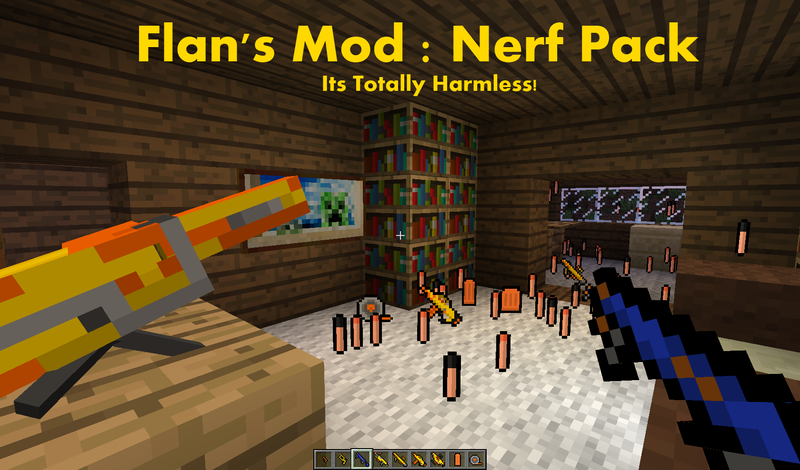 qxVvo [1.5.1] Flan's Nerf Pack Mod Download
