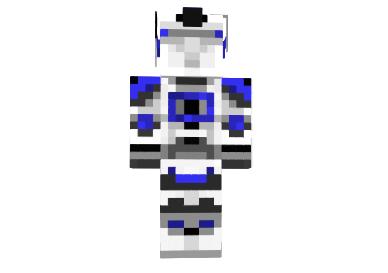 0ad6b  Captain rex skin 1 Captain Rex Skin para Minecraft
