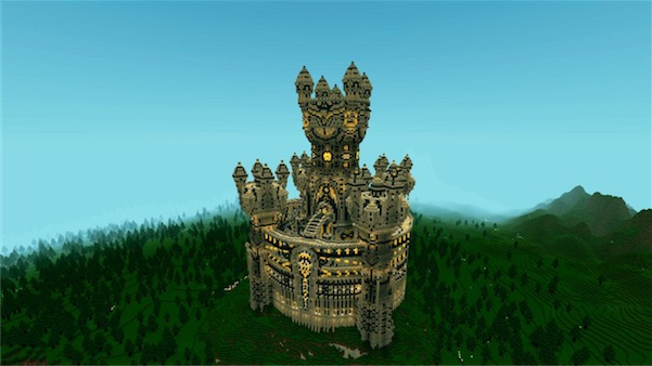 Warucia Castle Epic Build Map