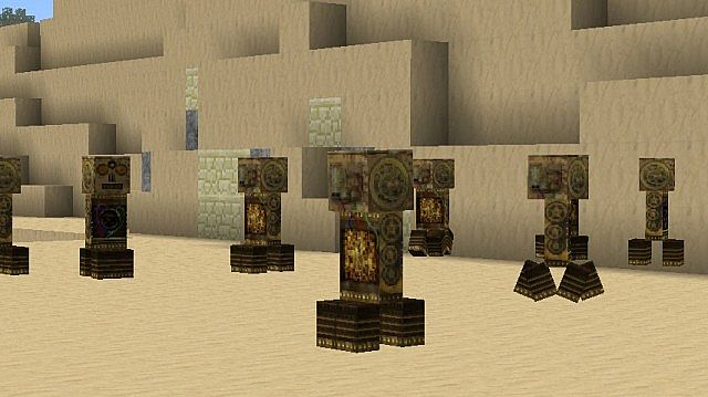 15c3f  Infantrys steampunk texture pack 4 [1.5.2/1.5.1] [128x] Infantry's SteamPunk Texture Pack Download