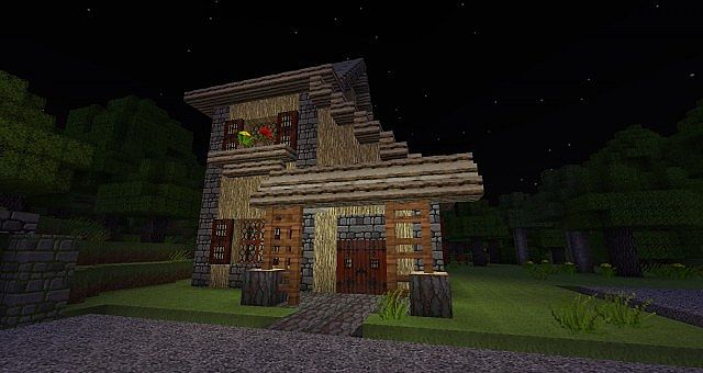 1832c  Darklands medieval texture pack 3 [1.7.2/1.6.4] [32x] Darklands Medieval Texture Pack Download