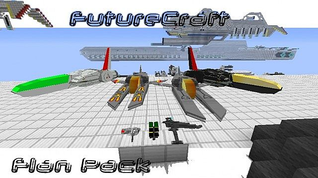 18d8a  Flans FutureCraft Pack Mod 1 [1.6.4] Flan's FutureCraft Pack Mod Download