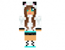 Cute Panda Girl Skin for Minecraft