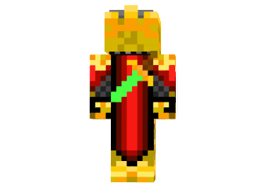 3a70a  Golden knight skin 1 Golden Knight Skin for Minecraft