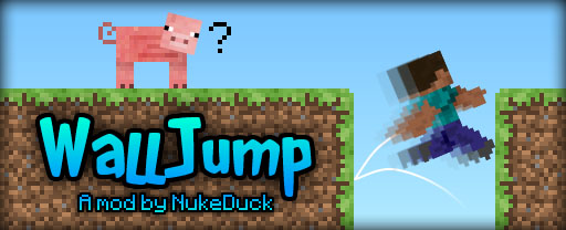 59585  Wall Jump Mod [1.5.2] Wall Jump Mod Download