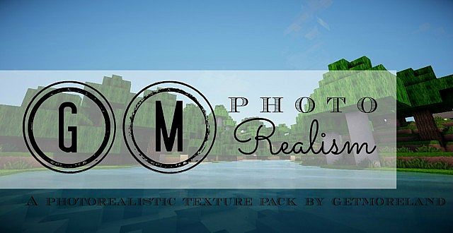 63c21  GM photo realism texture pack [1.5.2/1.5.1] [128x] GM Photo Realism Texture Pack Download