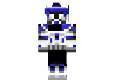 8b231  Captain rex skin Captain Rex Skin para Minecraft