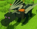 Dragon Mounts Mod 3 130x100 [1.11.2] Flat Colored Blocks Mod Download