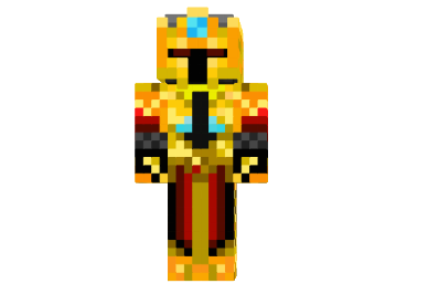 c5f3d  Golden knight skin Golden Knight Skin for Minecraft