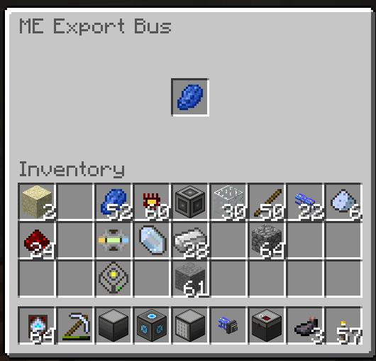 de3b2  me export bus Applied Energistics Screenshots