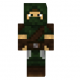Woodland Hunter Skin for Minecraft