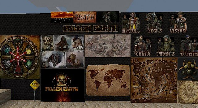 f9755  Fallen earth texture pack 1 [1.5.2/1.5.1] [16x] Fallen Earth Texture Pack Download