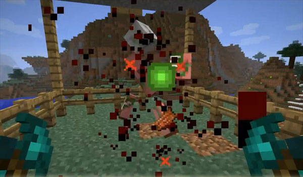 Minecraft forge] blood particles (1. 6. 4) minecraft mods.