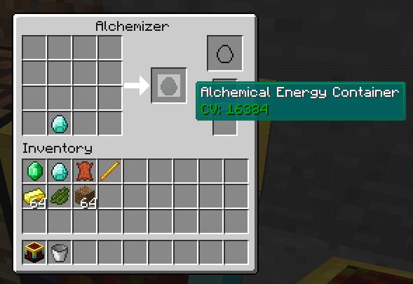 006c8  energymashing1 Minor Alchemy Screenshots and Recipes