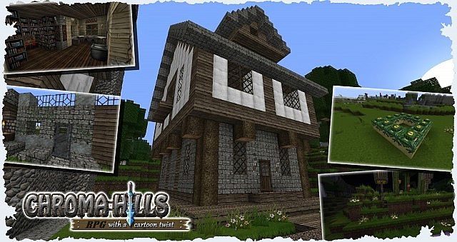 15e9c  Chroma hills rpg texture pack 2 [1.7.2/1.6.4] [64x] Chroma Hills RPG Texture Pack Download