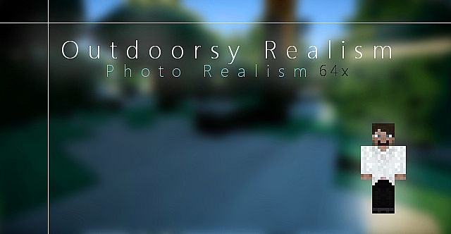 21f48  Outdoorsy realism texture pack [1.7.2/1.6.4] [64x] Outdoorsy Realism Texture Pack Download