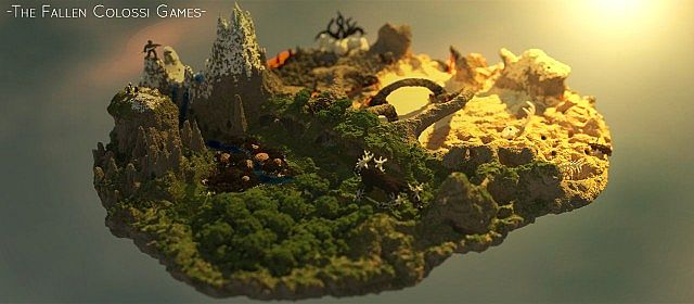 4a608  The Fallen Colossi Games Map 1 The Fallen Colossi Games Map Download