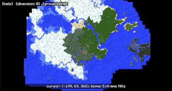 MapWriter Mod