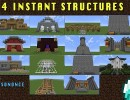 [1.5.2] 14 Instant Structures Mod Download