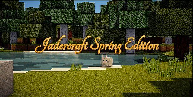b587d  Jadercraft spring texture pack [1.5.2/1.5.1] [64x] Jadercraft Spring Texture Pack Download