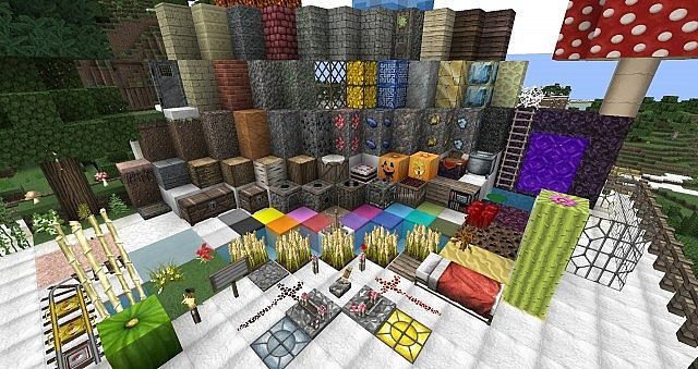 cfe0b  Chroma hills rpg texture pack 1 [1.7.2/1.6.4] [64x] Chroma Hills RPG Texture Pack Download