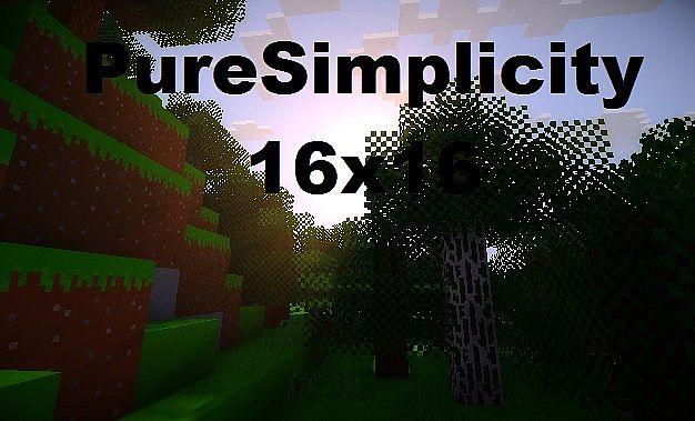 d1d95  Puresimplicity texture pack [1.5.2/1.5.1] [16x] PureSimplicity Texture Pack Download