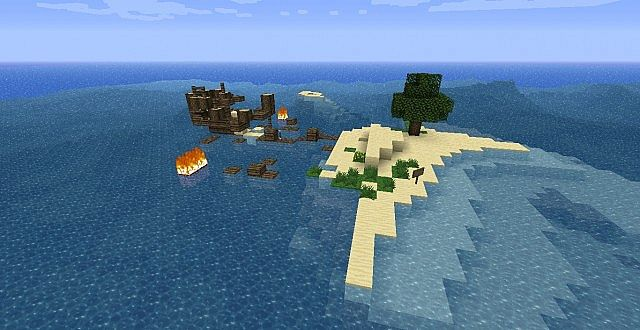 faca8  Stranded Map 6 [1.5.2] Survival Island – Stranded Map Download