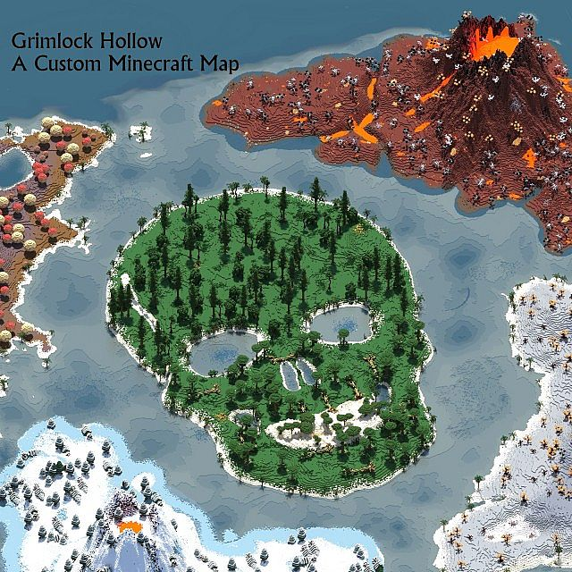 141e2  Grimlock Hollow Map 4 [1.6.2/1.6.1] Grimlock Hollow Map Download