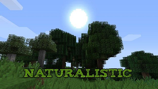 3898e  Naturalistic texture pack [1.7.2/1.6.4] [16x] Naturalistic Texture Pack Download